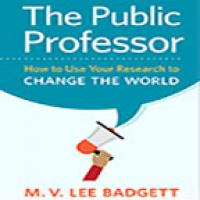 cover of the book The Public Professor