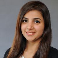 University of Massachusetts School of Public Policy (SPP) student Aiza Ashraf