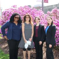 photo of Hadassah Salem, Laura Sylvester, Sarah Brown-Anson, Beth Leibinger 1.JPG