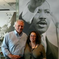 photo of Linda Tropp & Morris Dees