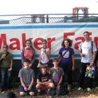group at Maker Faire