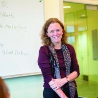 photo of Katie McDermott teaching