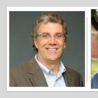 Headshots of Charlie Schweik and Scott Jackson