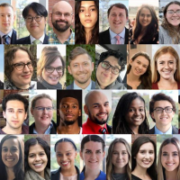 collage of headshots of class of 2021 students