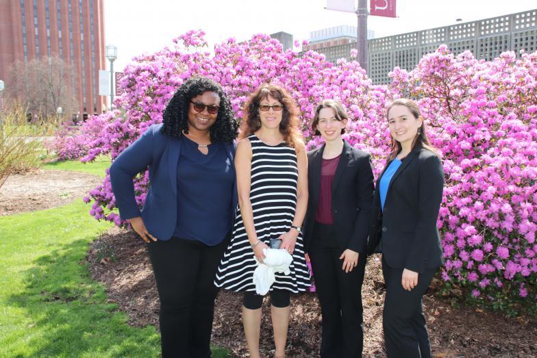photo of Hadassah Salem, Laura Sylvester, Sarah Brown-Anson, Beth Leibinger 1.JPG