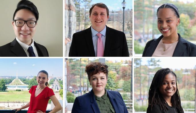 Headshots of the 2020 CAP Fellows