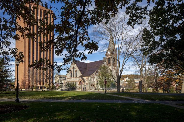 UMass Dubois Library and Old Chapel