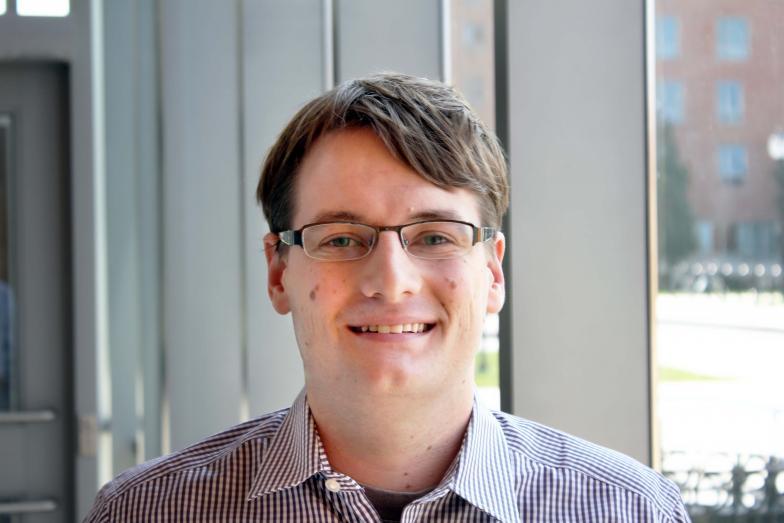 Headshot of student Peter Houston