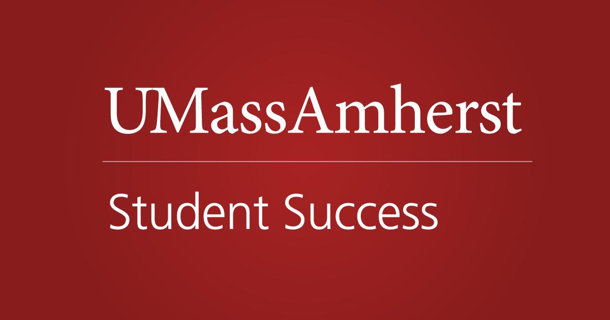 Advising Staff Resources Inventory Student Success Umass Amherst