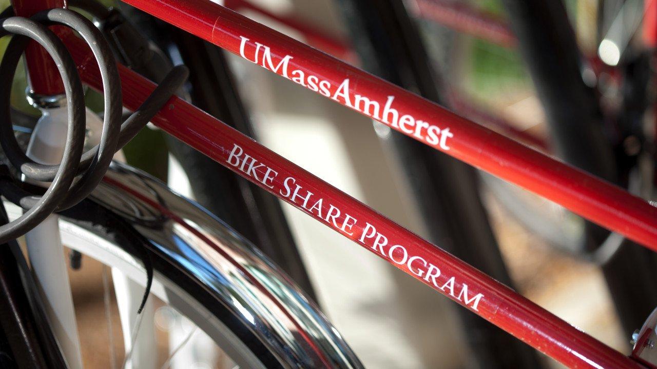 On-Campus Bike Rental at the University of Massachusetts Amherst