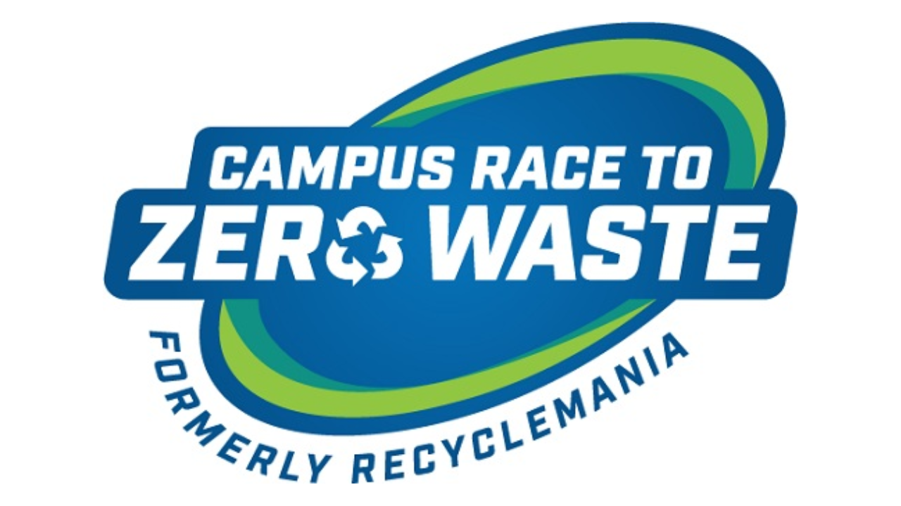 Campus Race to Zero Waste (formerly recyclemania) logo