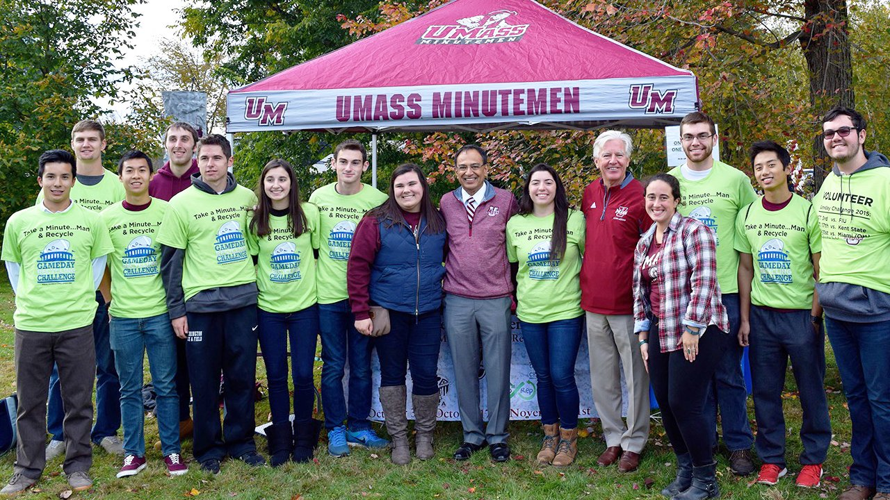 EPA Game Day Challenge at the University of Massachusetts Amherst