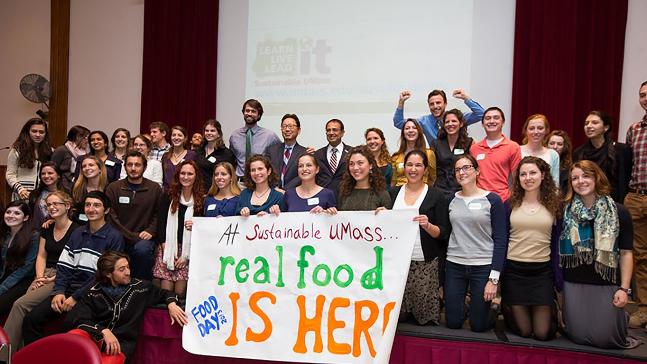Real Food Challenge at the University of Massachusetts Amherst