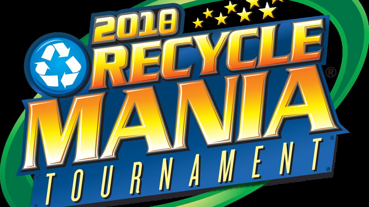 RecycleMania 2018 logo
