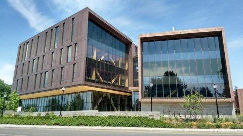 John W. Olver Design Building at the University of Massachusetts Amherst