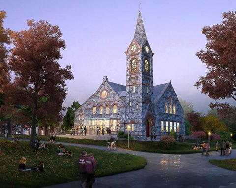 Old Chapel Renovation at the University of Massachusetts Amherst