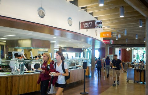Hampshire Dining Commons at the University of Massachusetts Amherst