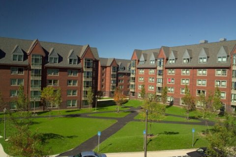 North Residential Halls at the University of Massachusetts Amherst