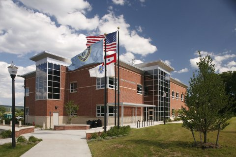 Police Station at the University of Massachusetts Amherst