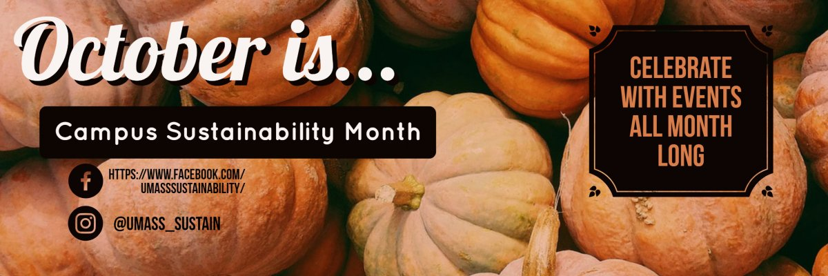 Campus Sustainability Month 2018