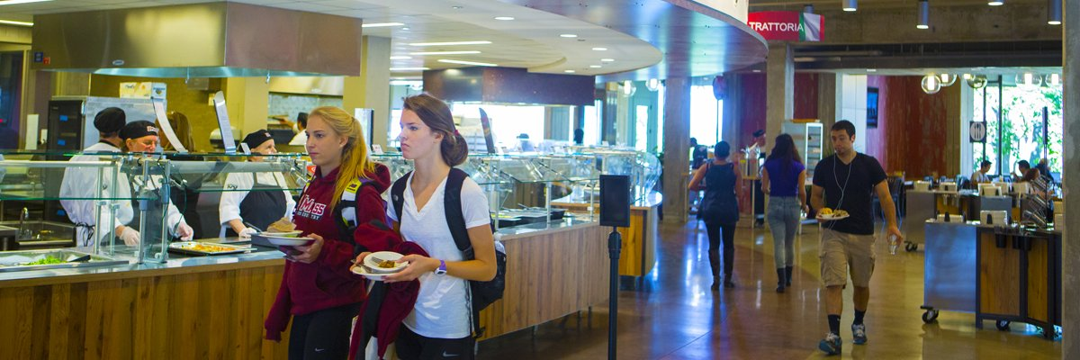 The Princeton Review Ranks UMass Amherst No. 1 for Best Campus Food