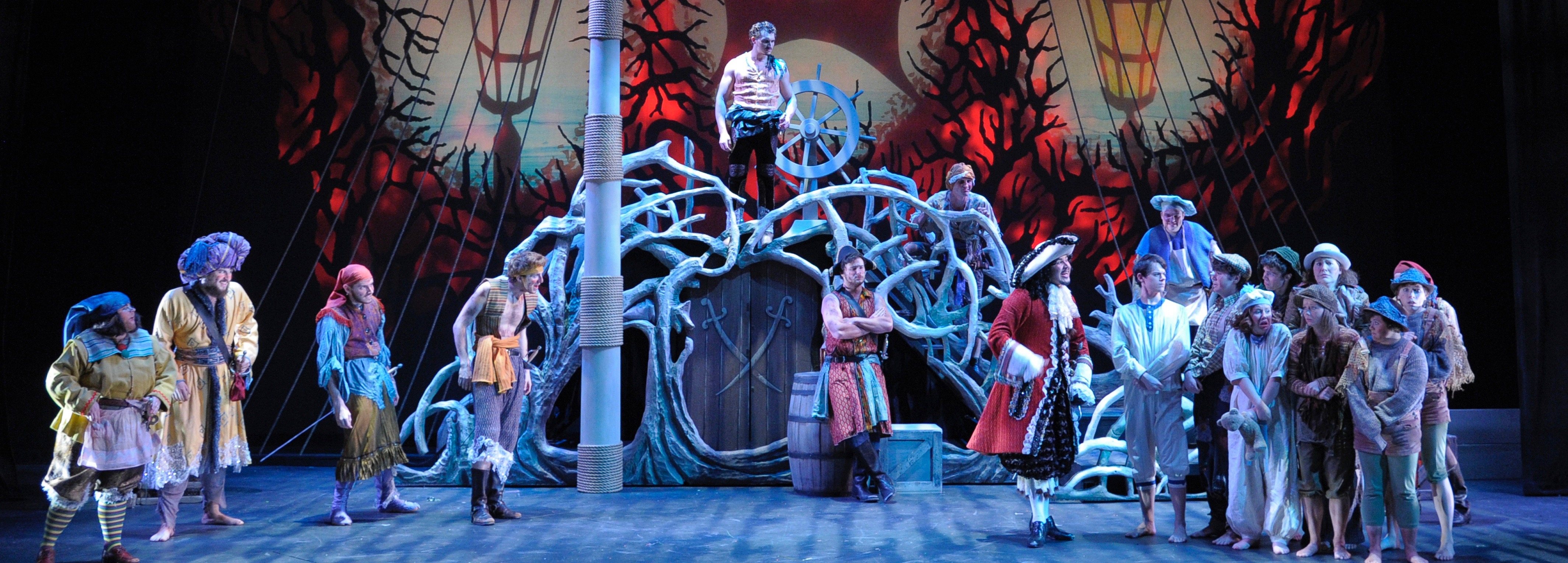 archival photo of Peter Pan production