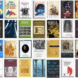 book covers of scholarly works by the translationc center