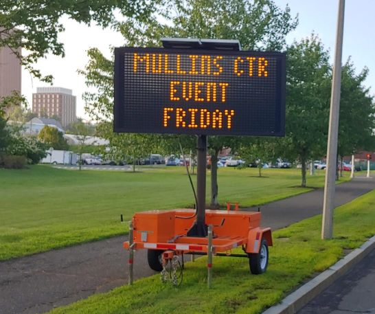 Variable Message Signs - Transportation Services - UMass Amherst
