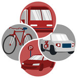 transportation services logo