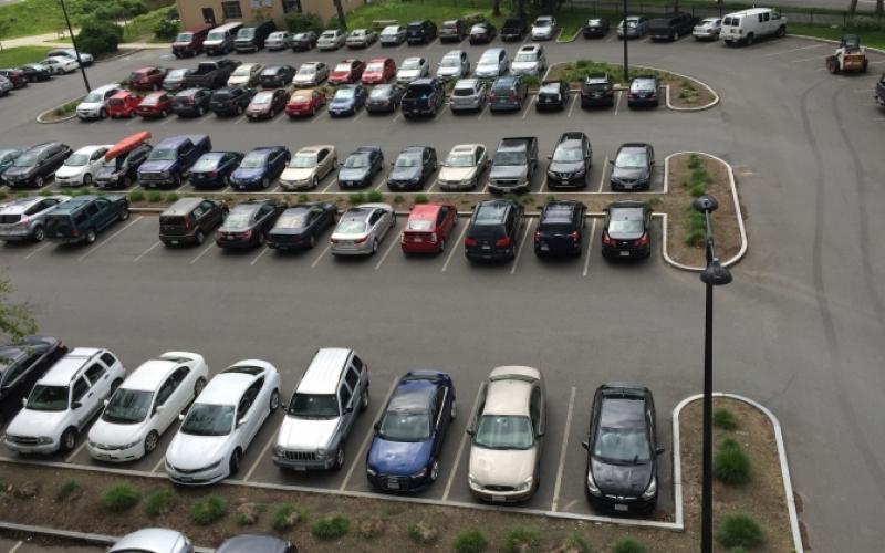 Campus Parking Lot #42