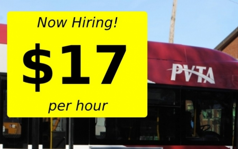 Now Hiring! $17 per hour.