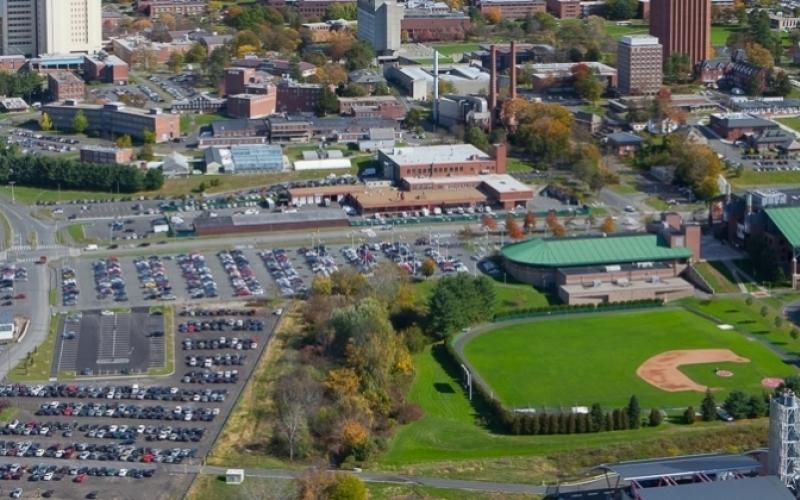 campus aerial view j.solem photo