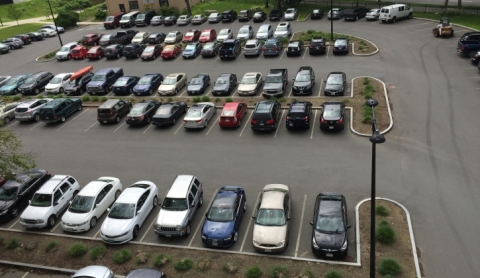 Campus Parking Lot #42