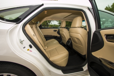 Meet and Greet Sedan Interior