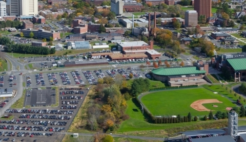campus aerial view j.solem photo