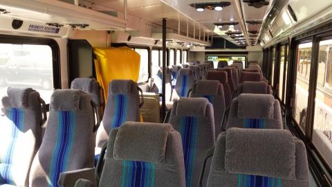 Interior of Premium Buses