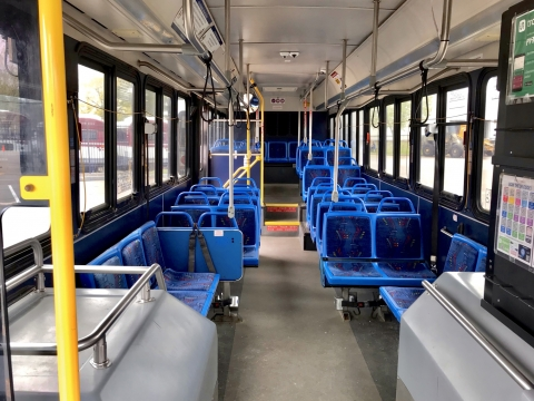 City Style Bus (interior)