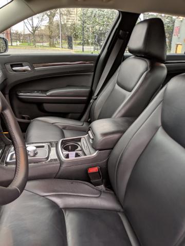 Meet & Greet Sedan Interior Front Seat