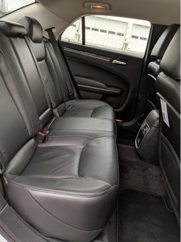 Meet & Greet Sedan Interior Back Seat