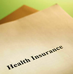 Photo illustration of health insurance policy