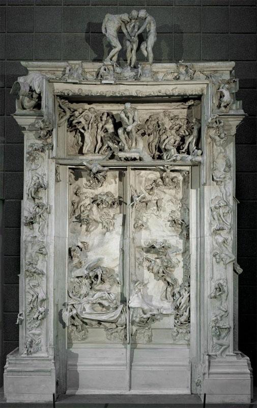 Auguste Rodin Gates of Hell. & UMCA