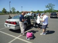 UMPD installing child safety seat