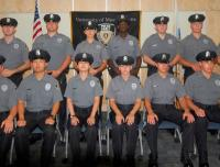 Police cadet academy group
