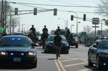 UMPD at St. Patty's Day Parade