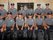 Police cadet academy group