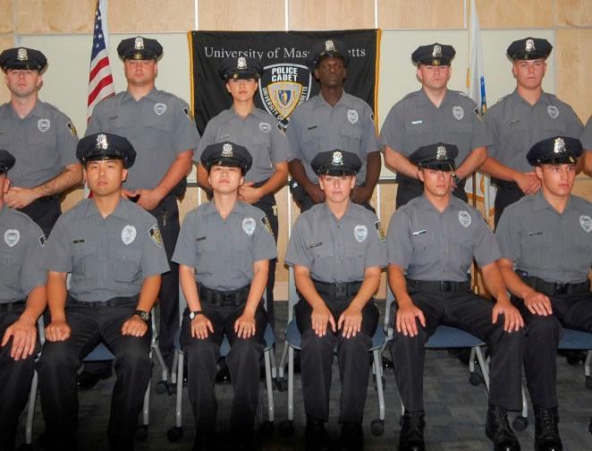 Police Cadets Umpd Umass Amherst