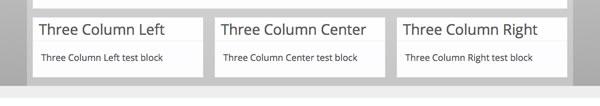 Three Column
