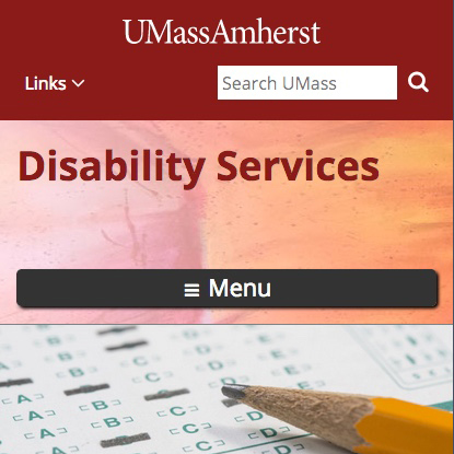 UMass Amherst Disability Services