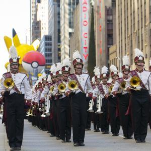 UMass Minuteman Marching Band at the 2013 Macy's Day Parade