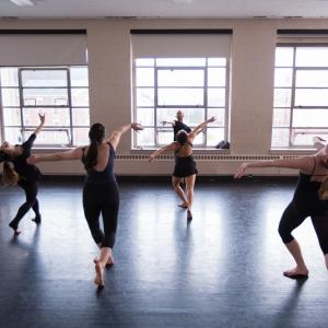 Dance class at Totman